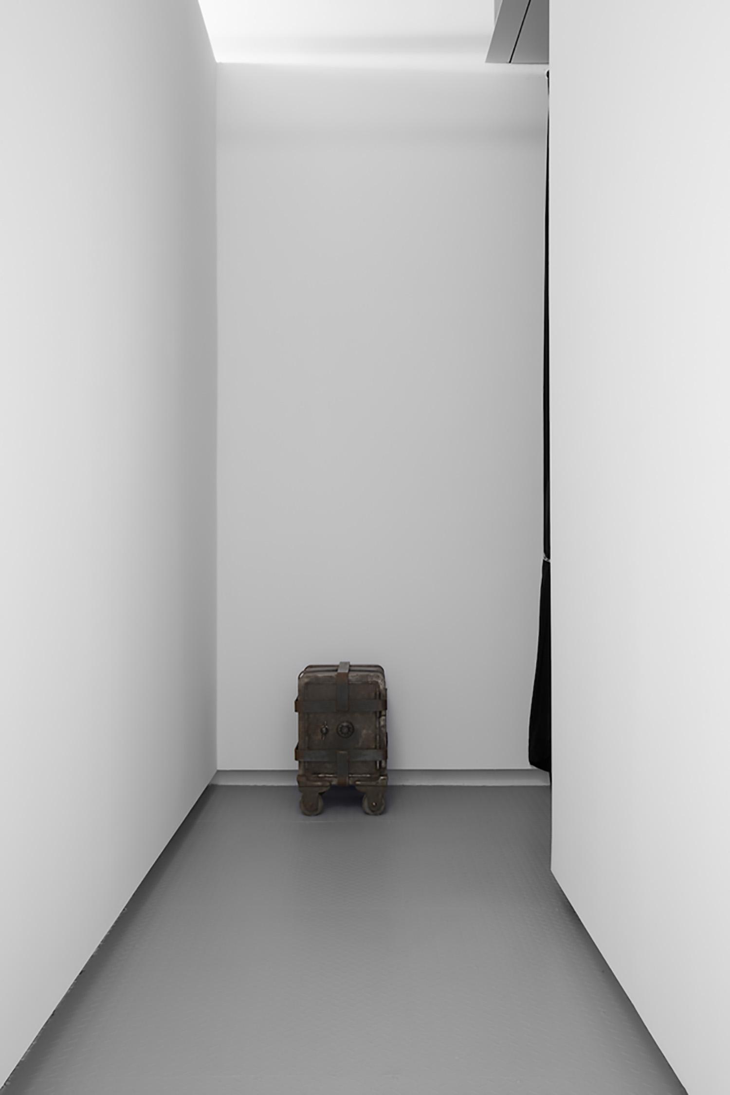 """Maskull Lasserre,   Trust $10 000 (500 x $20 bills) , 2013, Steel, weld, 24"""" x 24"""" x 24"""""""