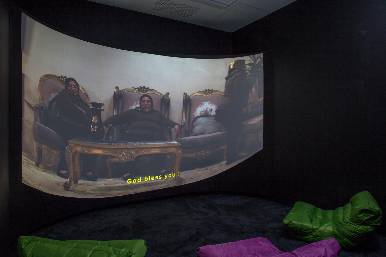 Meriem Bennani,   Ghariba , 2017, Digital video, 22:45 min, Commissioned by Art Dubai 2017, Courtesy of SIGNAL