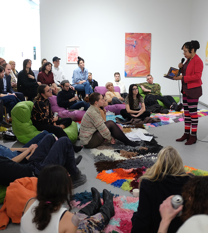 Tracie Morris ,  Readings , A reading as part of Eye to Eye, Arsenal Contemporary NY, 2018