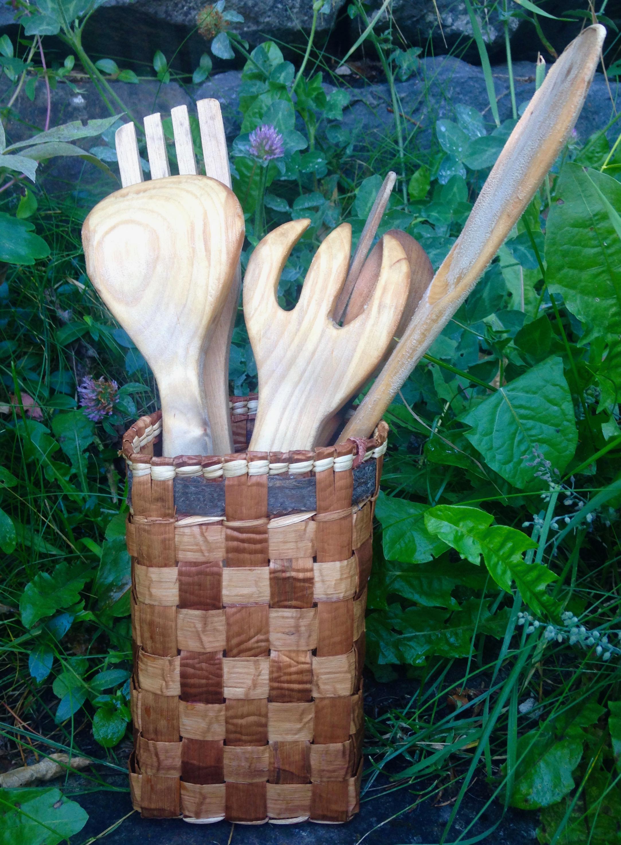 Cedar Wooden Spoon Basket.jpeg