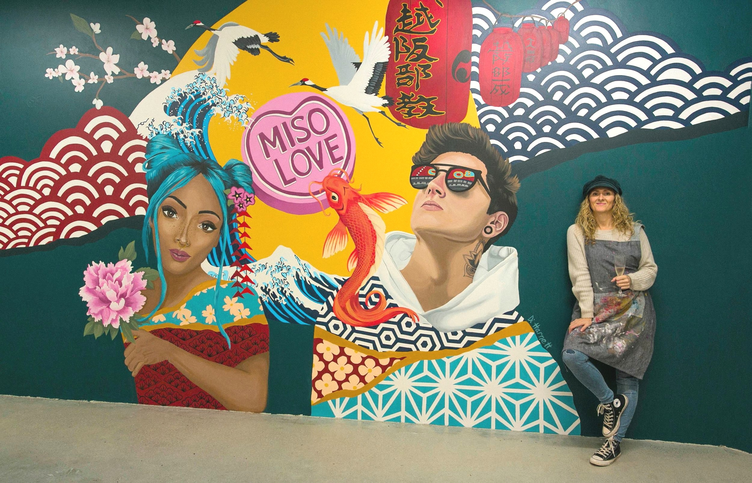 Mural for Miso Love