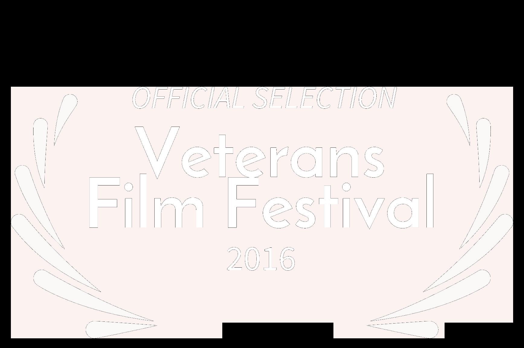 OFFICIAL SELECTION - Veterans Film Festival - 2016 neg transp.png