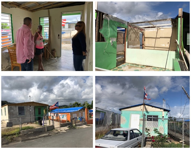 Local officials in Yabucoa introduced us to many residents that are still struggling with basic necessities like shelter, and lights after dark.