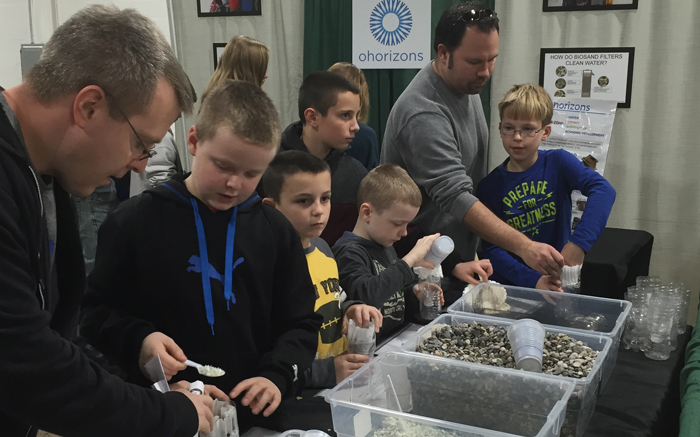 This is a great hands-on learning activity. Science teachers,Boy & Girl Scouts Leaders, Makers, etc. below this image is a link to our Make-Your-Own Water Filter Lesson Plan.