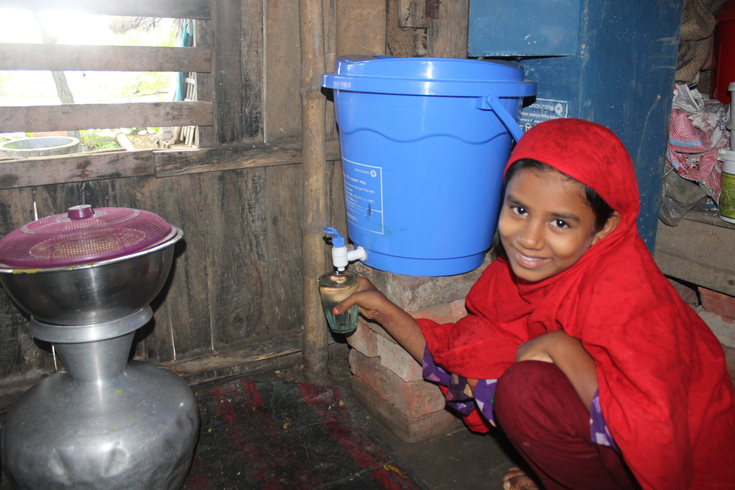 50,000 PEOPLE HAVE CLEAN WATER FOR LIFE -