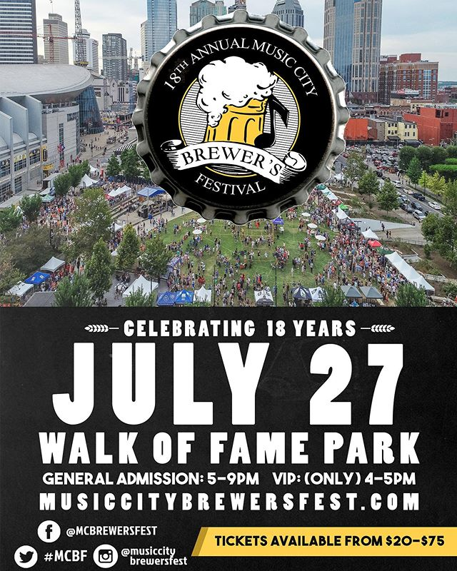 If you're in Nashville come out and see us tomorrow at the @musiccitybrewersfest @ Walk of Fame Park in downtown Nashville🍻 The perfect treat to sober you up after all that beer👌🏼 We will be selling from 5-9pm!