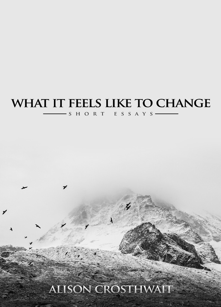 - What It Feels Like to Change is a series of short pieces about life through the therapeutic lens, making psychotherapy relevant to all of us.It opens up new ways of understanding the relationship between therapist and client and presents a unique set of possibilities for growth and change.Buy online