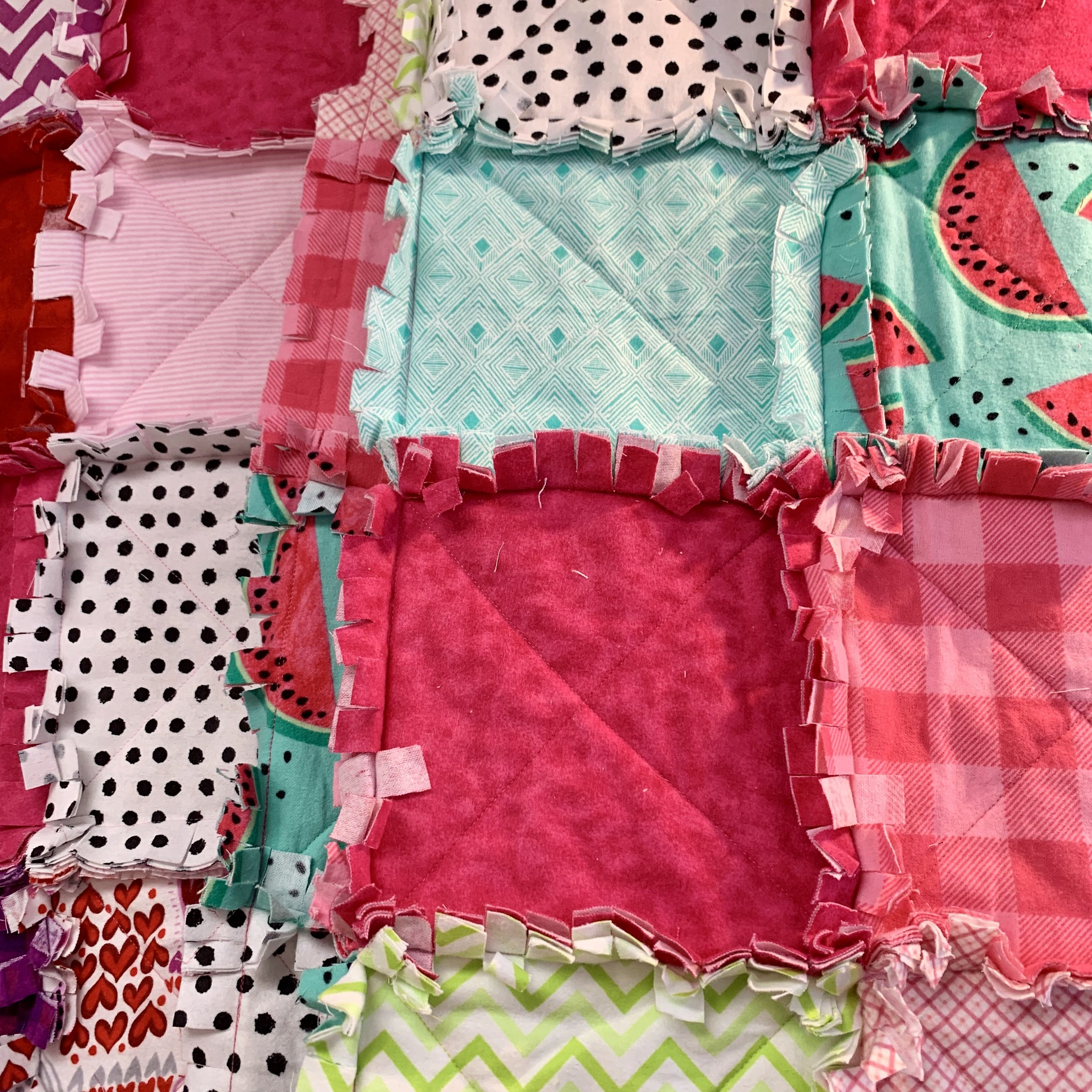 Rag Quilts - Available Wednesday Mornings 9am-12pm