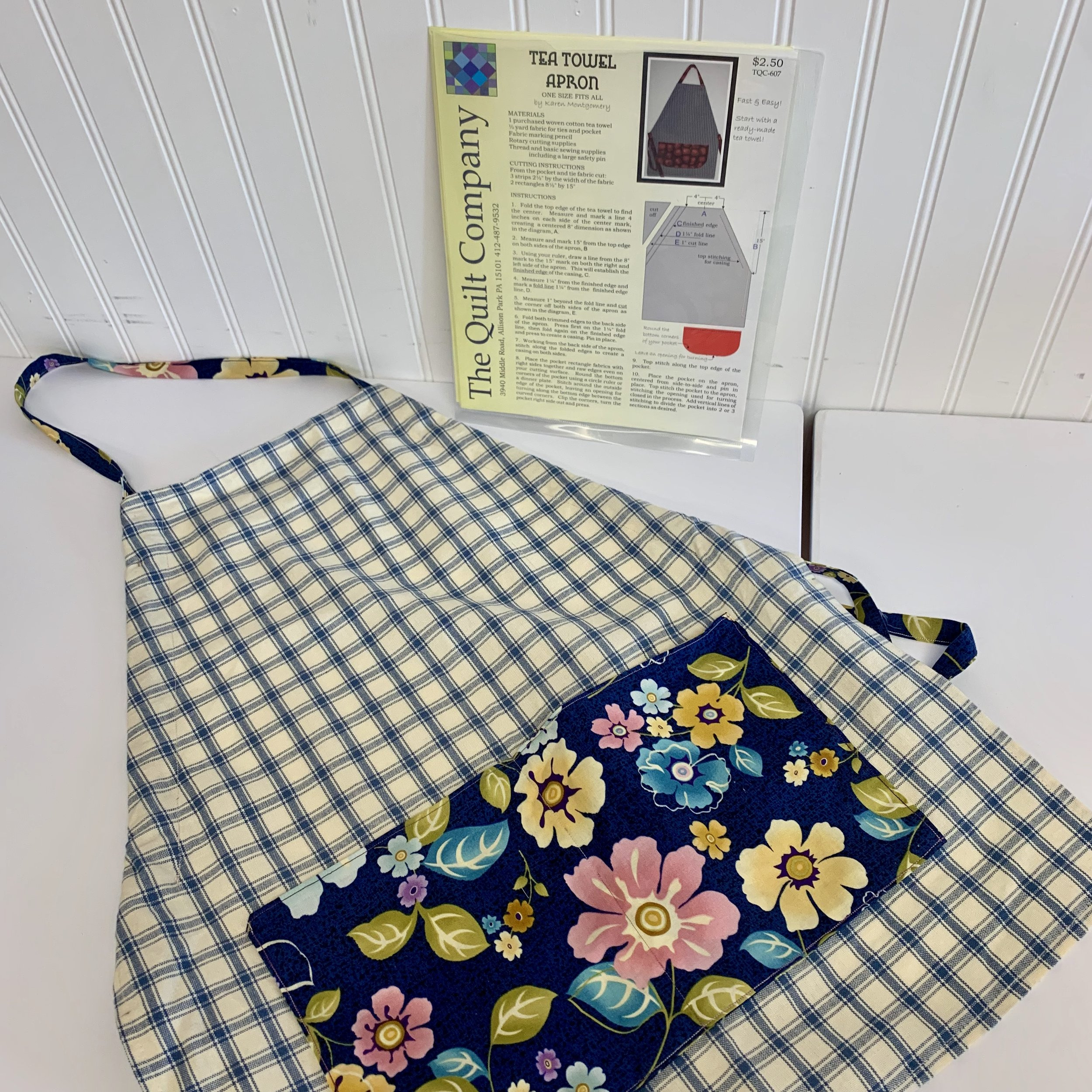 Apron Making - Available Thursday Afternoons 1pm-4pm