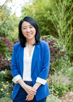Yifang Zhu , Professor, environmental health science department at UCLA Fielding School of Public Health and the Institute of the Environment   Image via UCLA