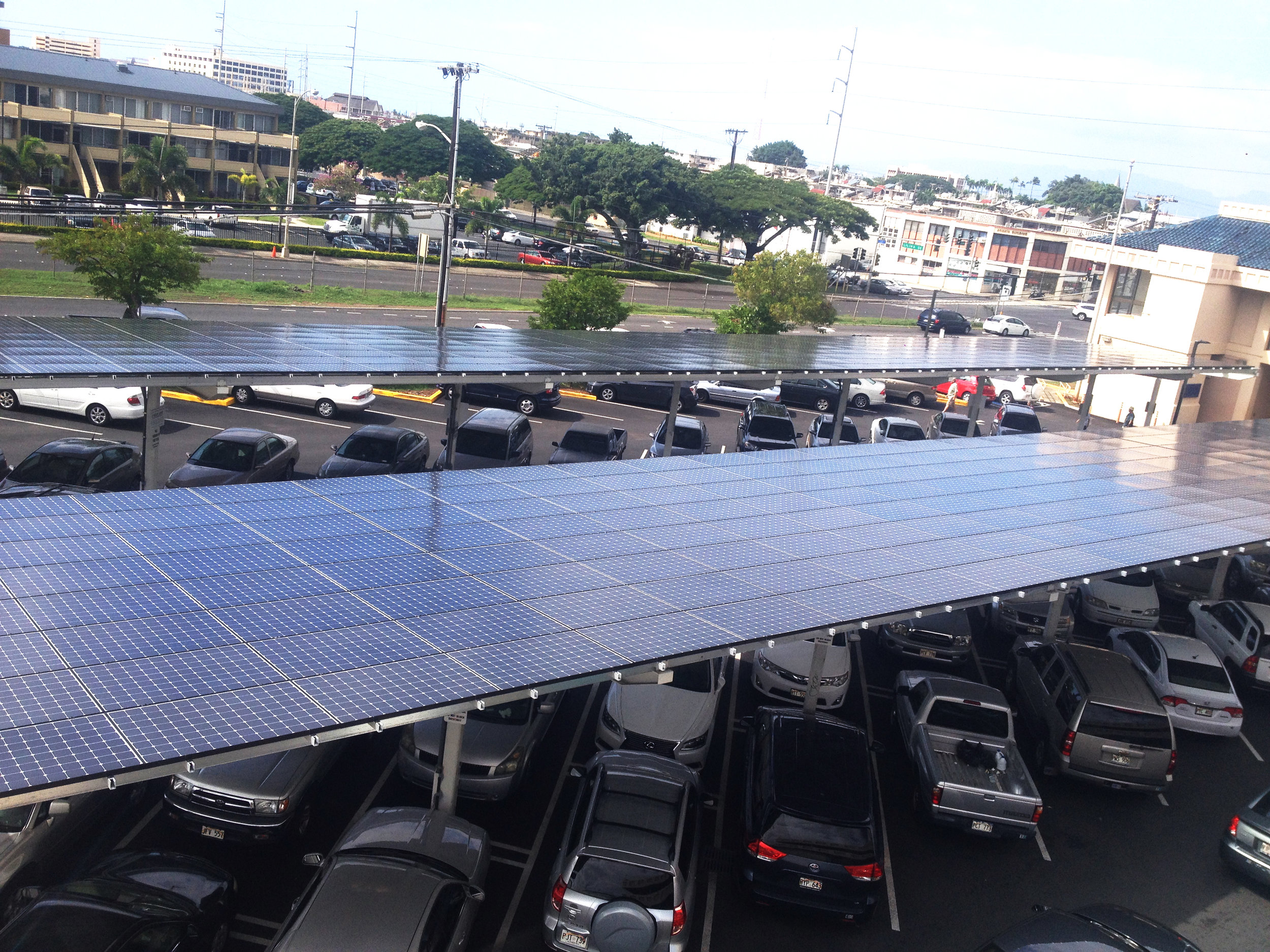 PV Covered Parking -