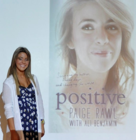 Paige Rawl POSITIVE