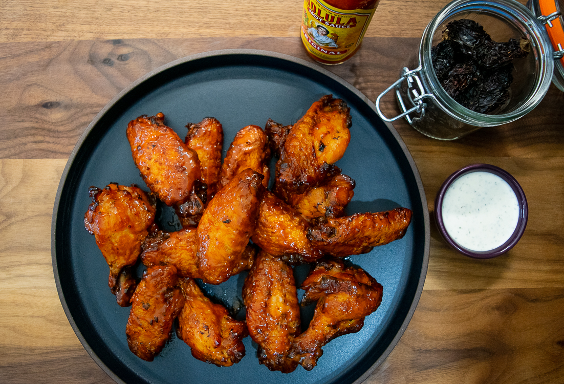 Sweet Chipotle Chicken Wings