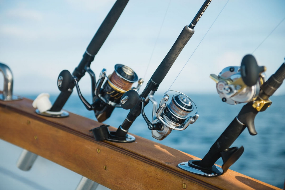 The latest Shimano equipment provided on all charters.
