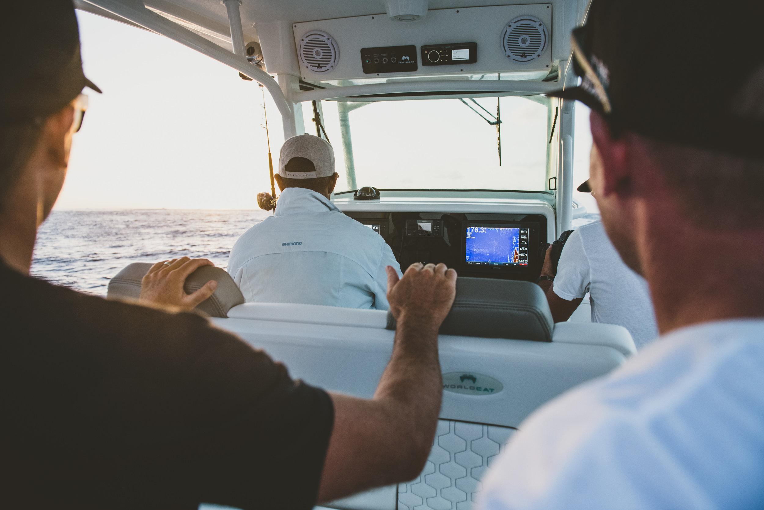 world cat namotu fishing charter cobalt