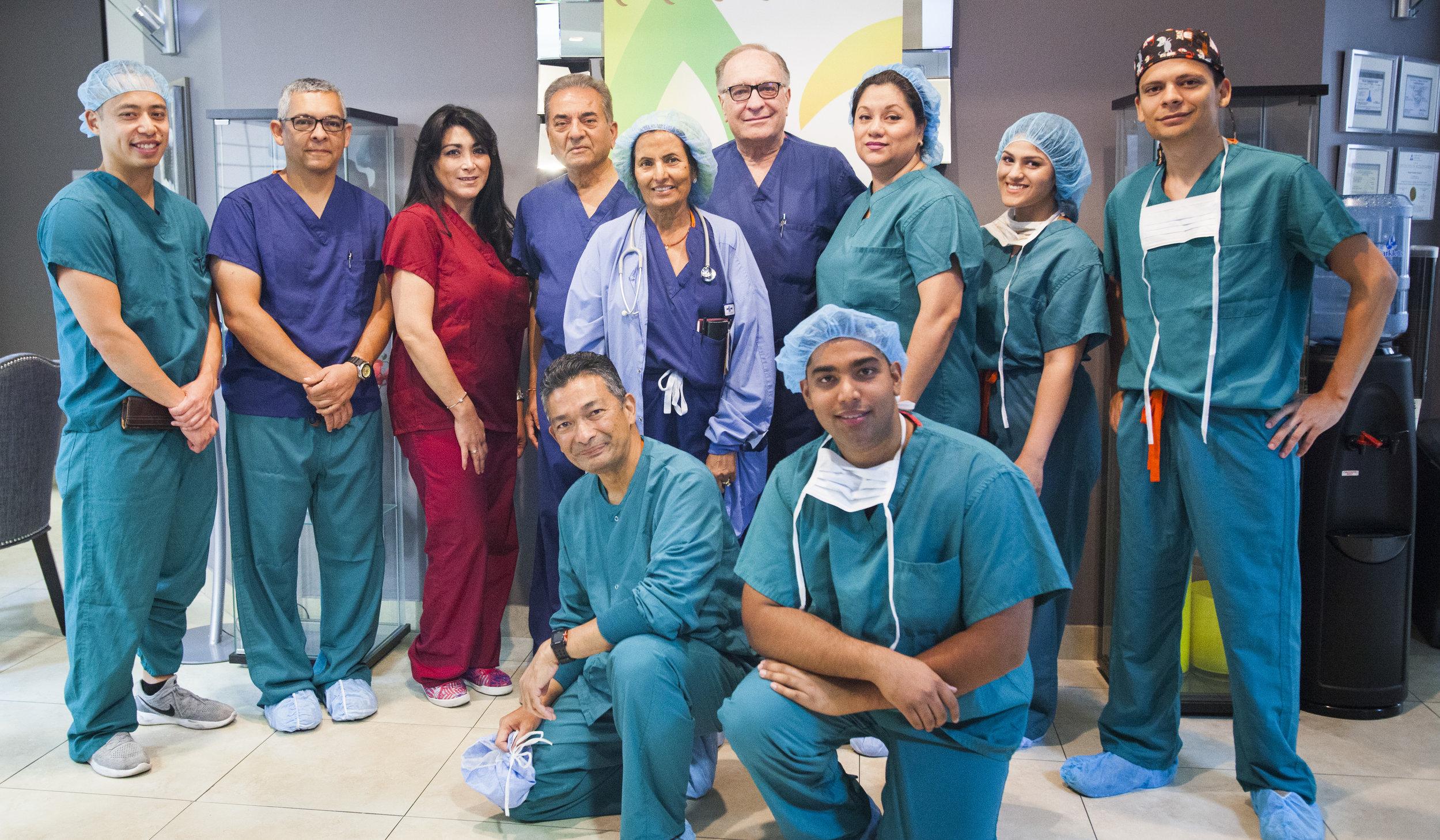 Beverly surgery center team
