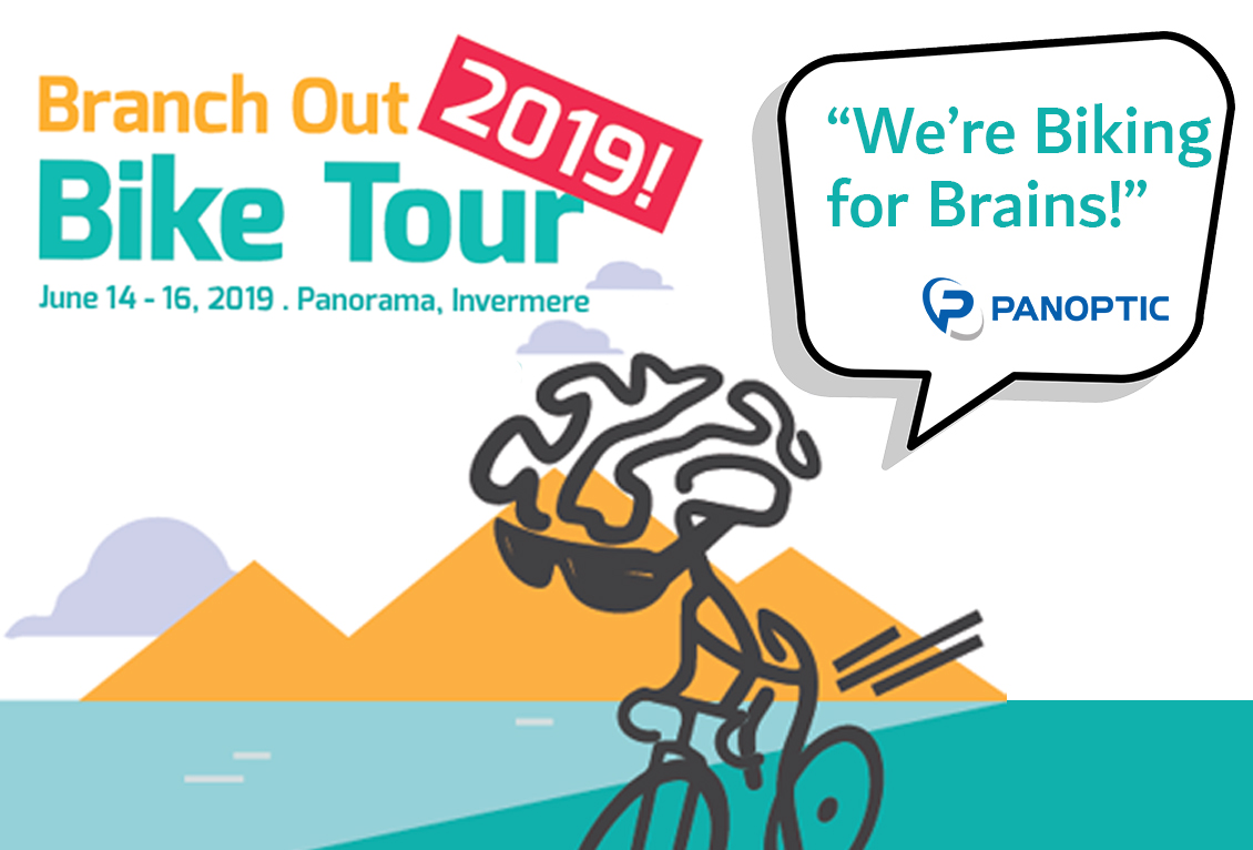 We're Biking for Brains! - The Panoptic Peddlers are excited to announce that we are taking part in the BRANCH OUT BIKE TOUR again this year!Did you know that 1 in 3 Canadians are directly impacted by a neurological disorder? Since 2010, the Branch Out Neurological Foundation has funded non-pharmaceutical and tech solutions to help those with neurological disorders across Canada. All donations are directly impacting the way we look and treat the brain.We are looking forward to riding and volunteering at this years 2019 Branch Out Bike Tour on June 15, 2019!    If you are interested in helping out our team, please follow the link below! https://secure.e2rm.com/registrant/TeamFundraisingPage.aspx?teamID=811264&langPref=en-CA