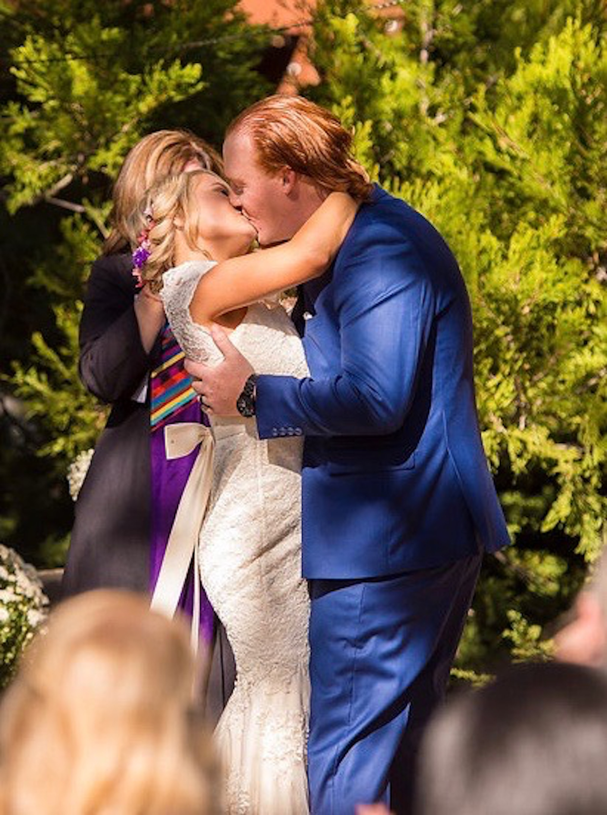 Venue- Woodland Park Manor, Idyllwild, Ca; Photographer- Isaac Wu; Caterer- Ponchos Tacos; Rentals- Party Plus; DJ- Woody Diaz; Officiant- Irma Kaye Sawyer; Makeup- Summer Conrad; Hair Stylist-Danni Calvert