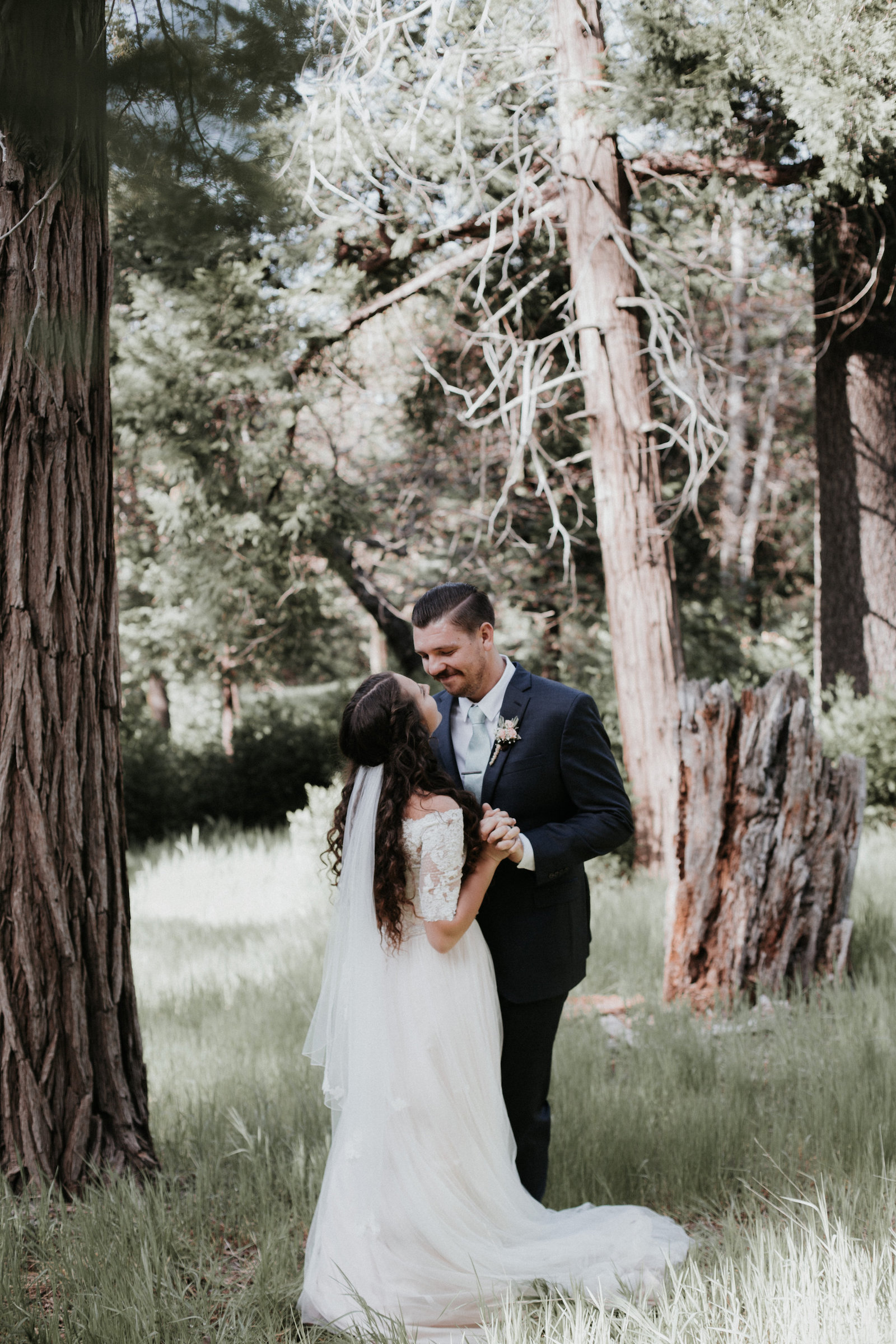 Venue- Thousand Pines, Crestline, Ca; Photographer- Jonni Lundy Studios; Florals- Bakery- Niki's Cakes; Rentals- Party Plus; Videographer- Ben Winchell; Catering- Lucilles BBQ; Hair & Makeup- Rachel Gray