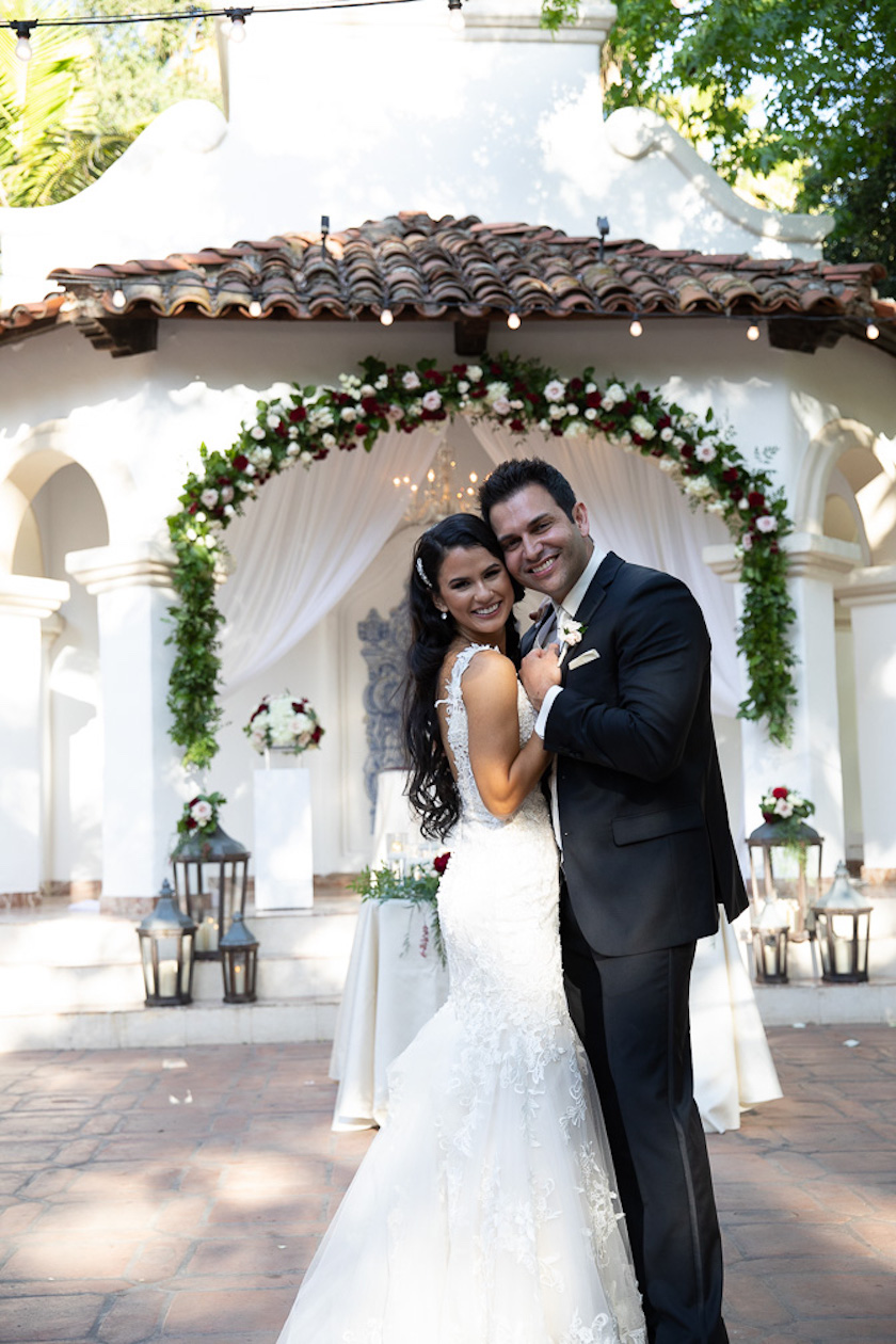 Venue- Rancho Los Lomas, Silverado, CA; Photography-Casian Photo; Florals- Pink Daffodil; Catering- 24 Carrots; Piano, Chester See; Entertainment- DJ Hector, Cake & Dessert- Mix Baked Decorate