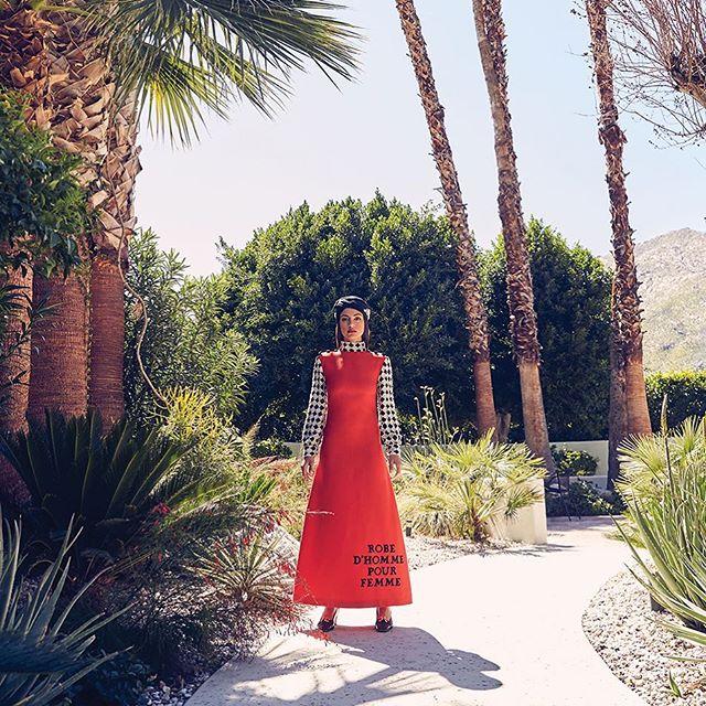 ❤️✨❤️✨ #tapforcredits - - - - - - - #beauty #editorial #fashion #fashioneditorial #fashioneditor #palmspringslifemagazine #amylustyle #inana #gucci #sixties #mod #turban #palmsprings