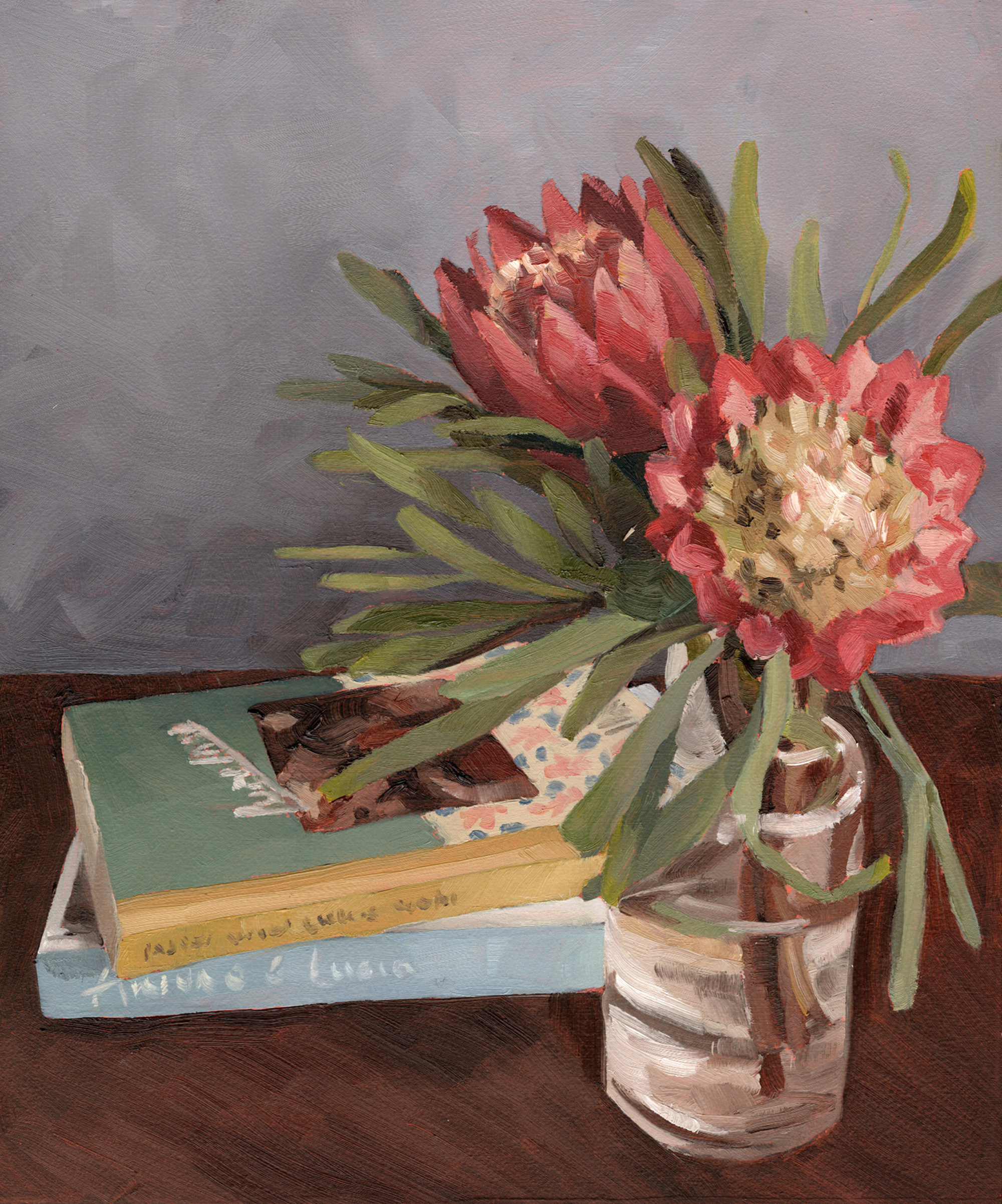 Lunch lady, protea repens by Emma Fuss