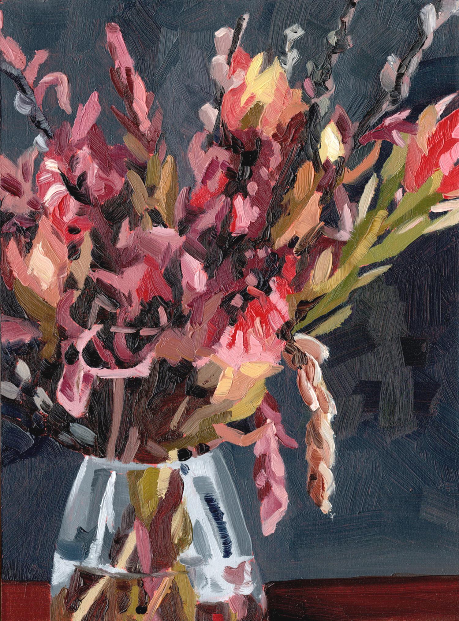 'Night still life' oil painting by Emma Fuss