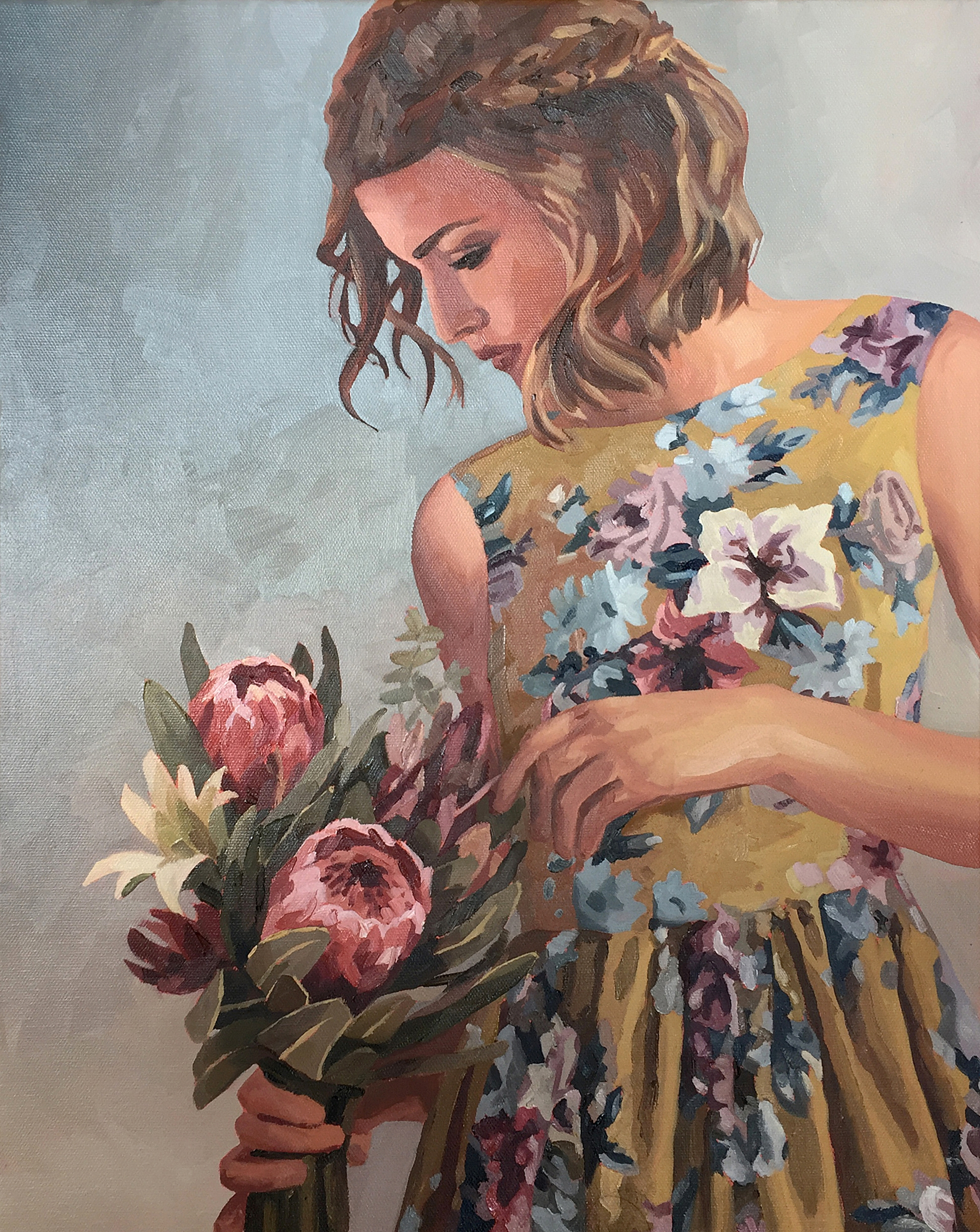 Eden - oil painting by Emma Fuss