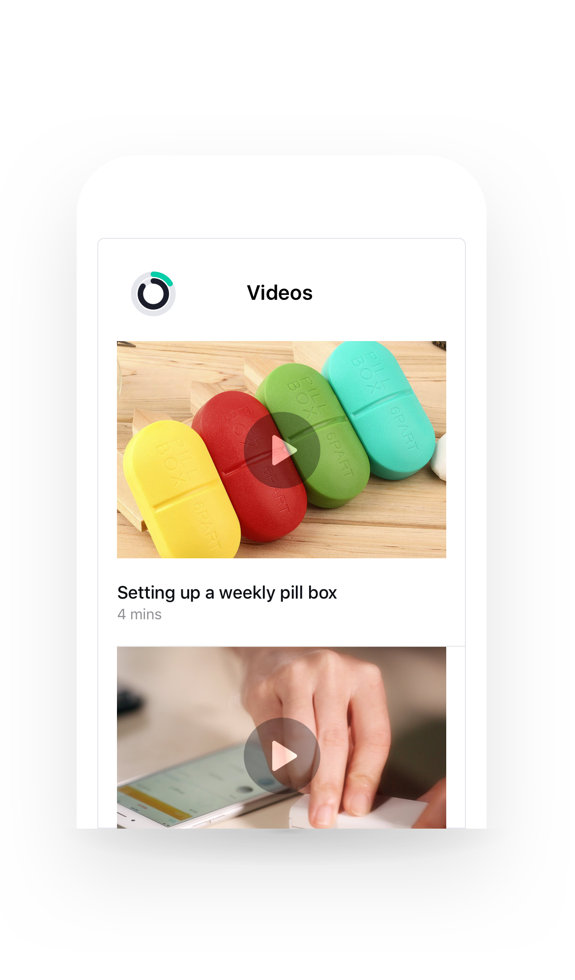 What great health looks like - Physicians contact patients using the method of their choosing, and can share video stories to teach patients the importance of medication adherence.