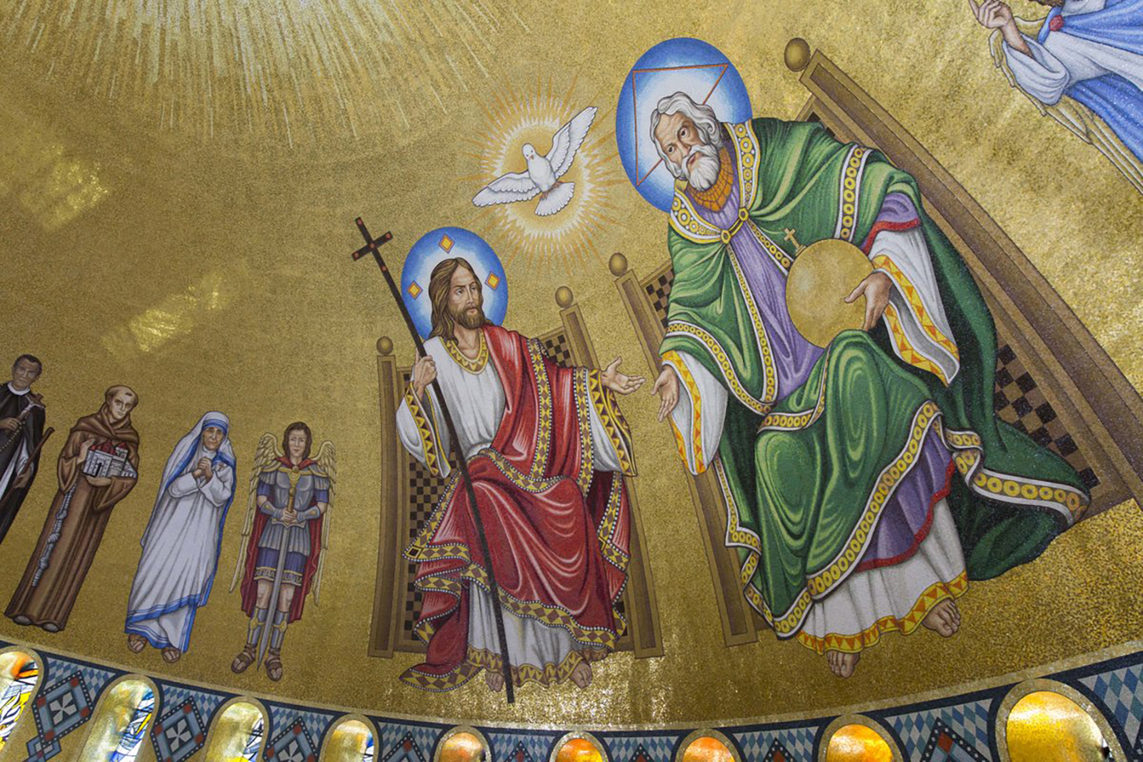 Image courtesy of the Basilica of the National Shrine of the Immaculate Conception