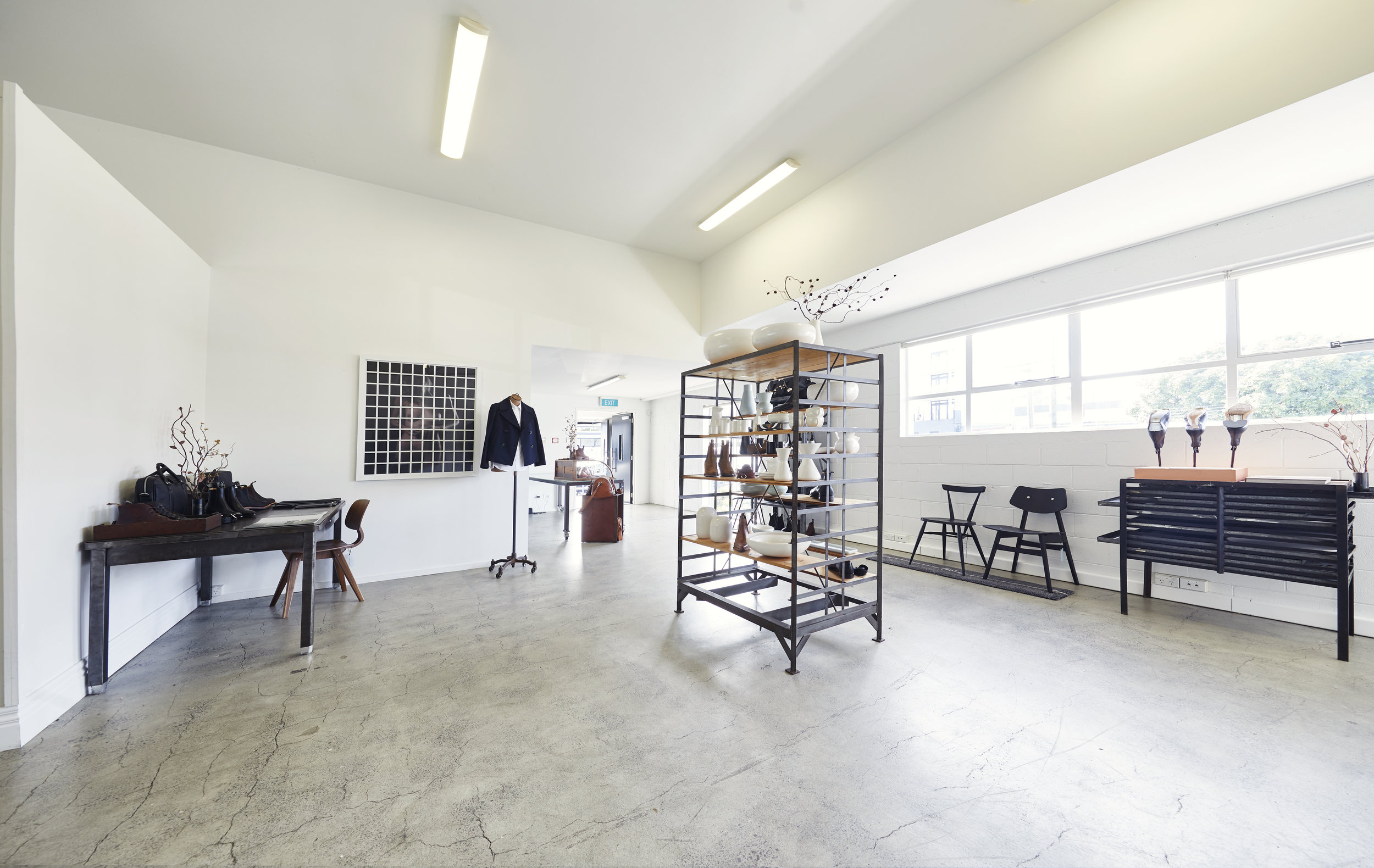 Studio 58 is an industrial character space available for hire in Ponsonby, Auckland