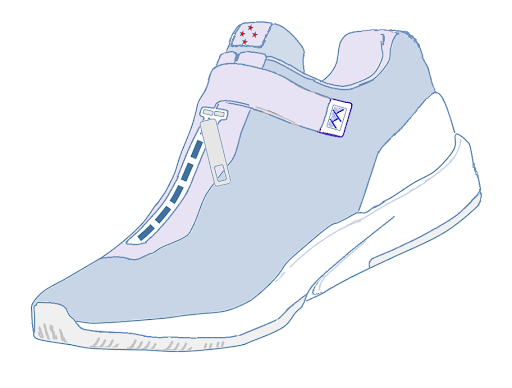 Riaka shoe prototype