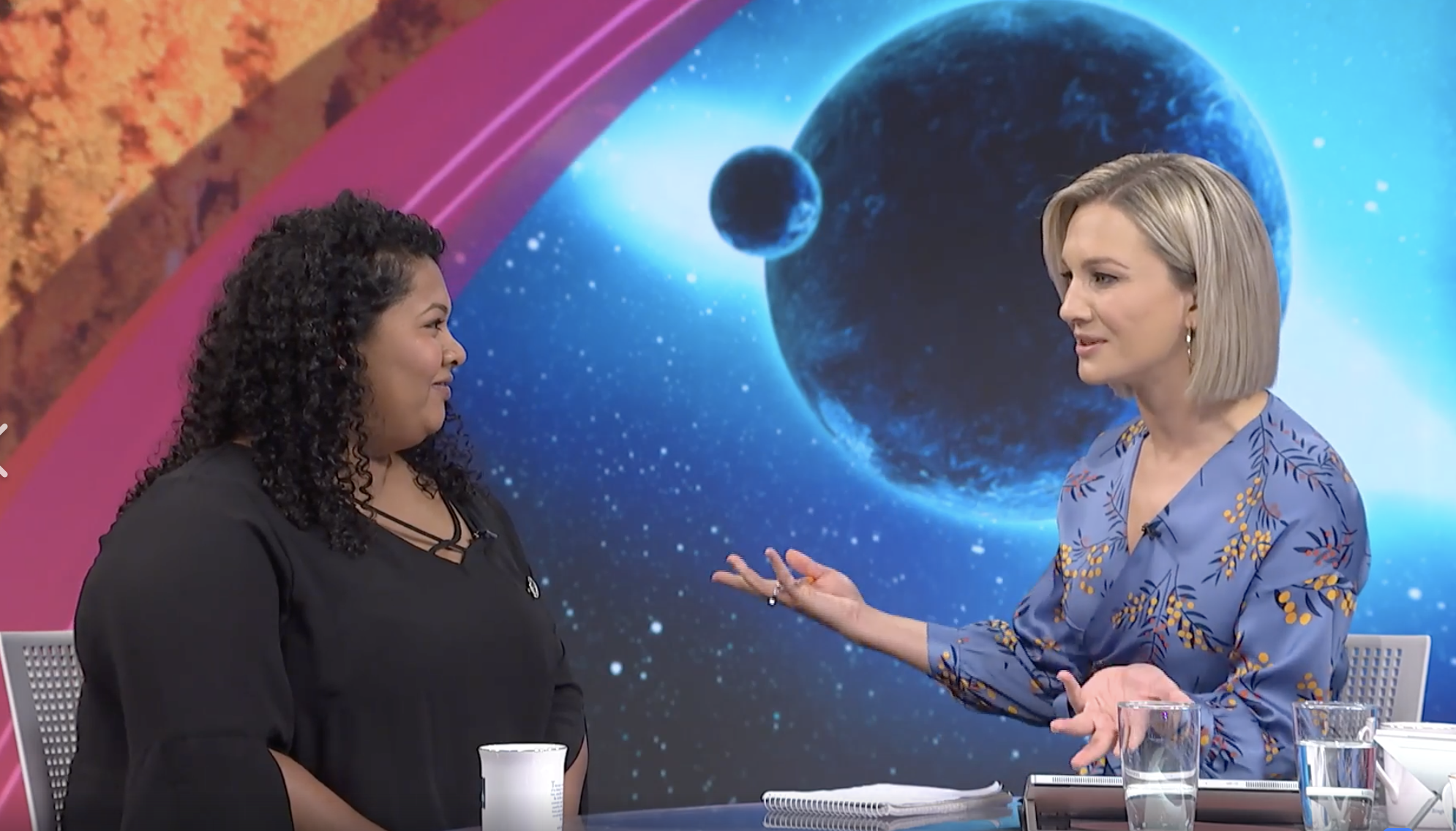 Carolle discussing astronomical naming rights and a NZ competition to name a planet and a star in NZ,  https://space.auckland.ac.nz/nameexoworlds/