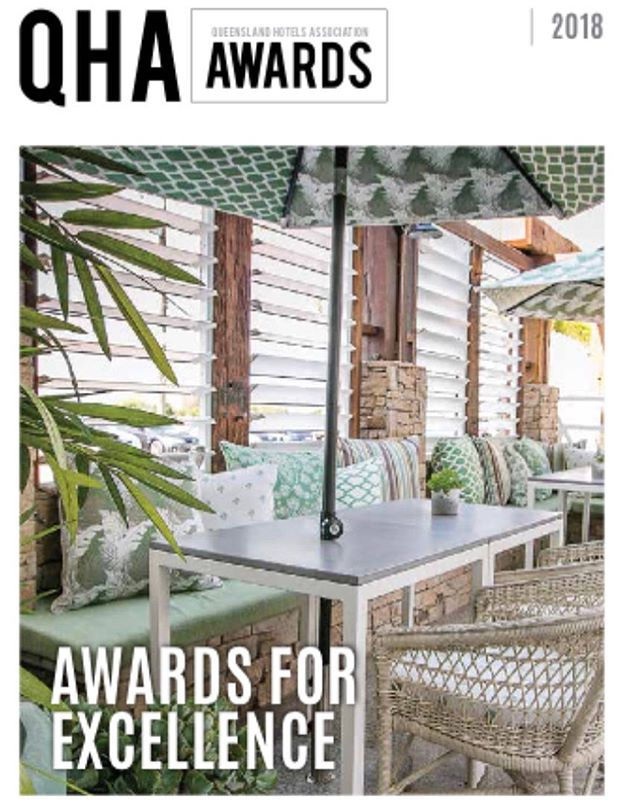 AND ITS A WINNER 👏👏 How many awards can one place win? However it is a pretty cool pub and whoever did that design work 🤔 . #qhaawards2018 #interiordesign #hoteldesign #interiors #interiordesigner #coastaldesign #coastaldecor #bestpubs #commercialdesign #commercialdesigner #winner #awardwinning #design #whitsundays #bowen #hamptonsdesignco  @grandviewhotelbowenqld @discoverqueensland @houseandgarden
