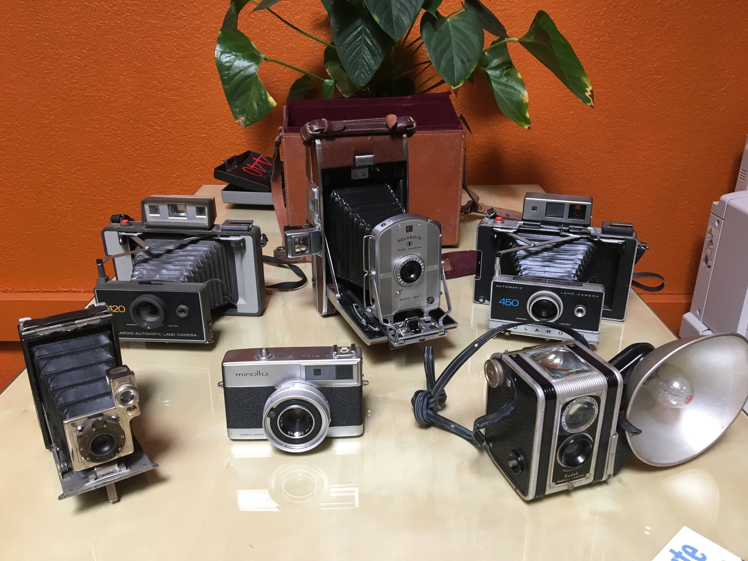 Vintage Family Camera Collection