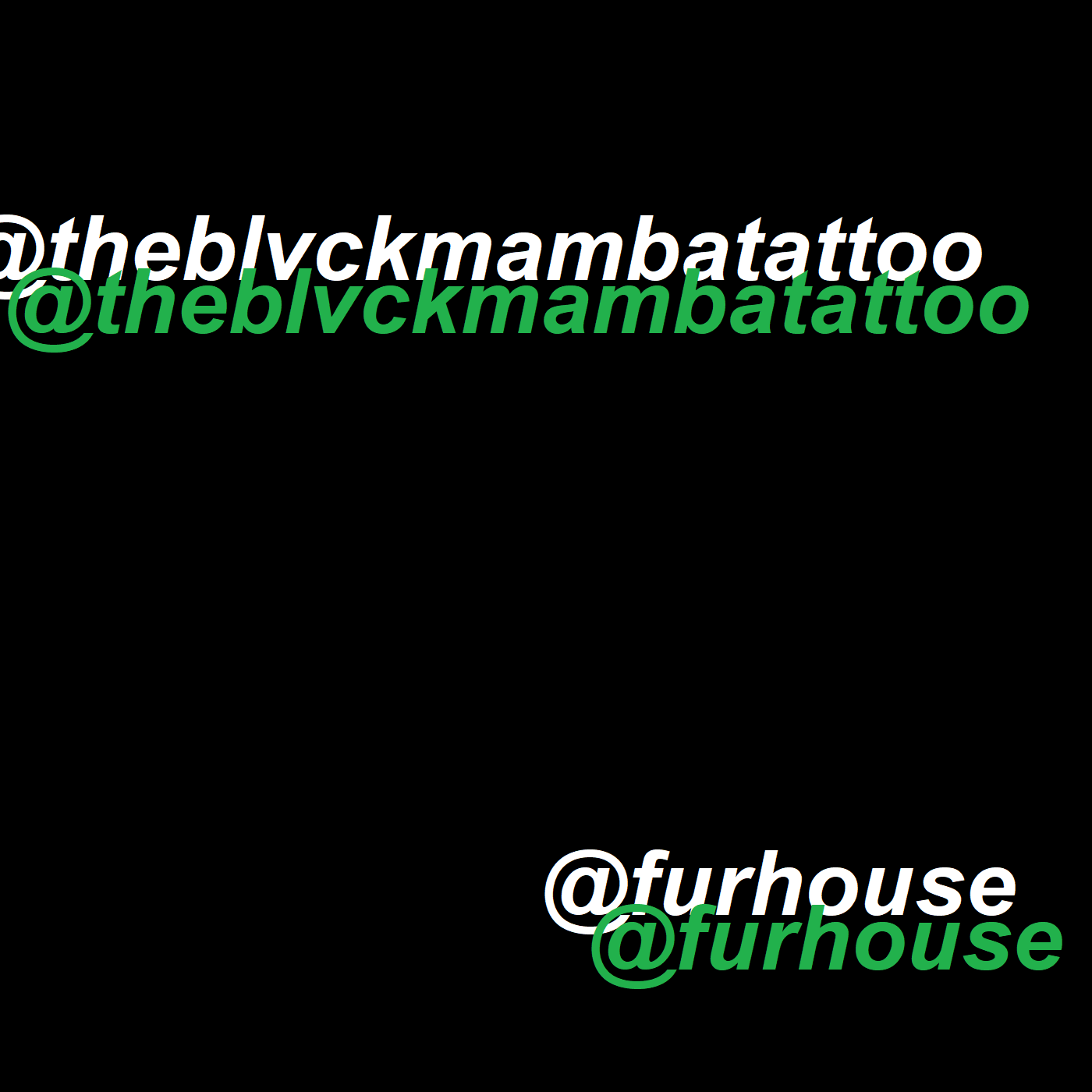 JUNE—————————@theblvckmambatattoo and @furhouse will be joining the bebop fam from June!! -