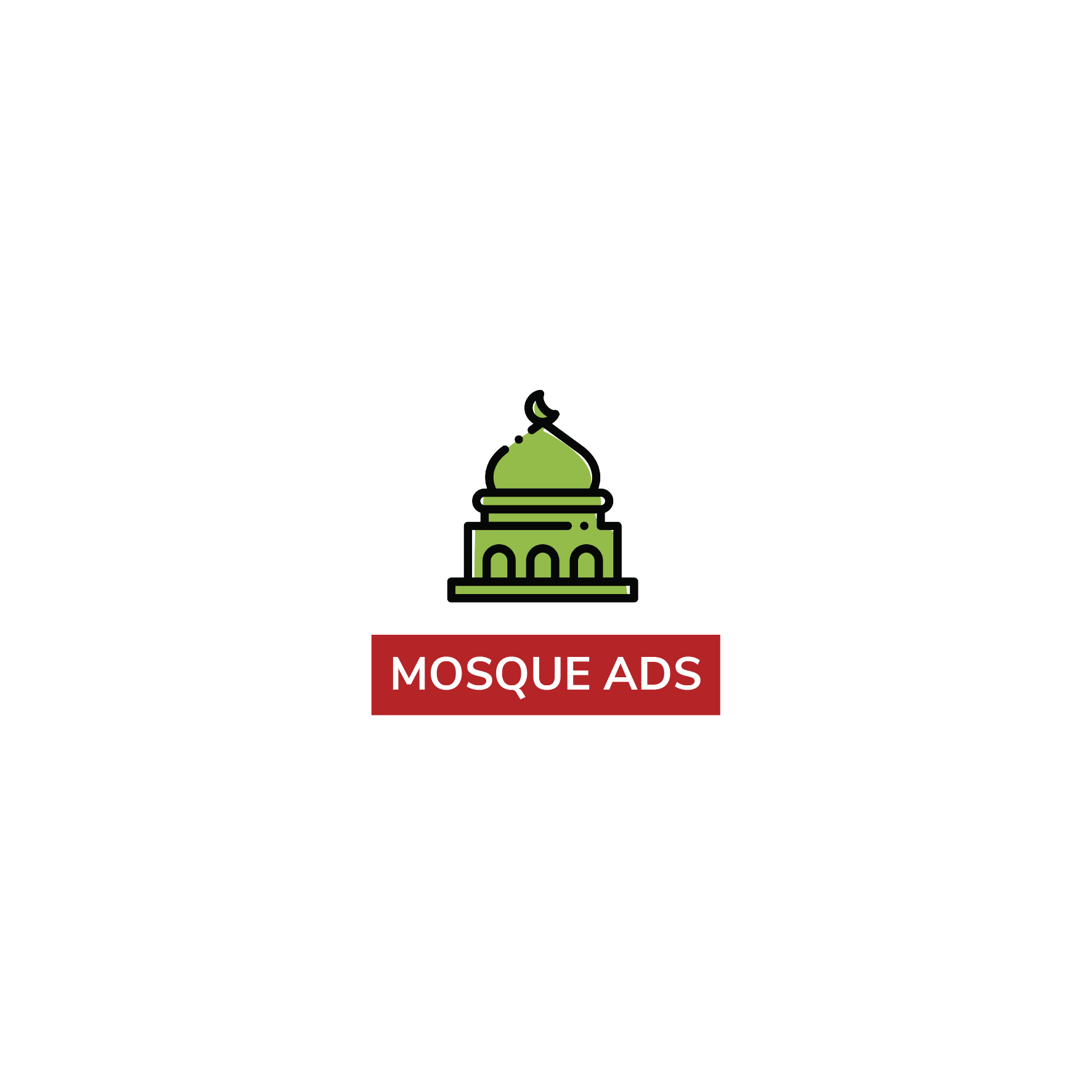 Mosque advertisement - png