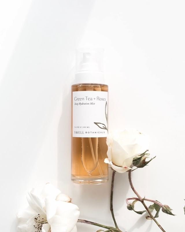 Hydrate and refresh with our Green Tea + Roses Deep Hydration Mist.