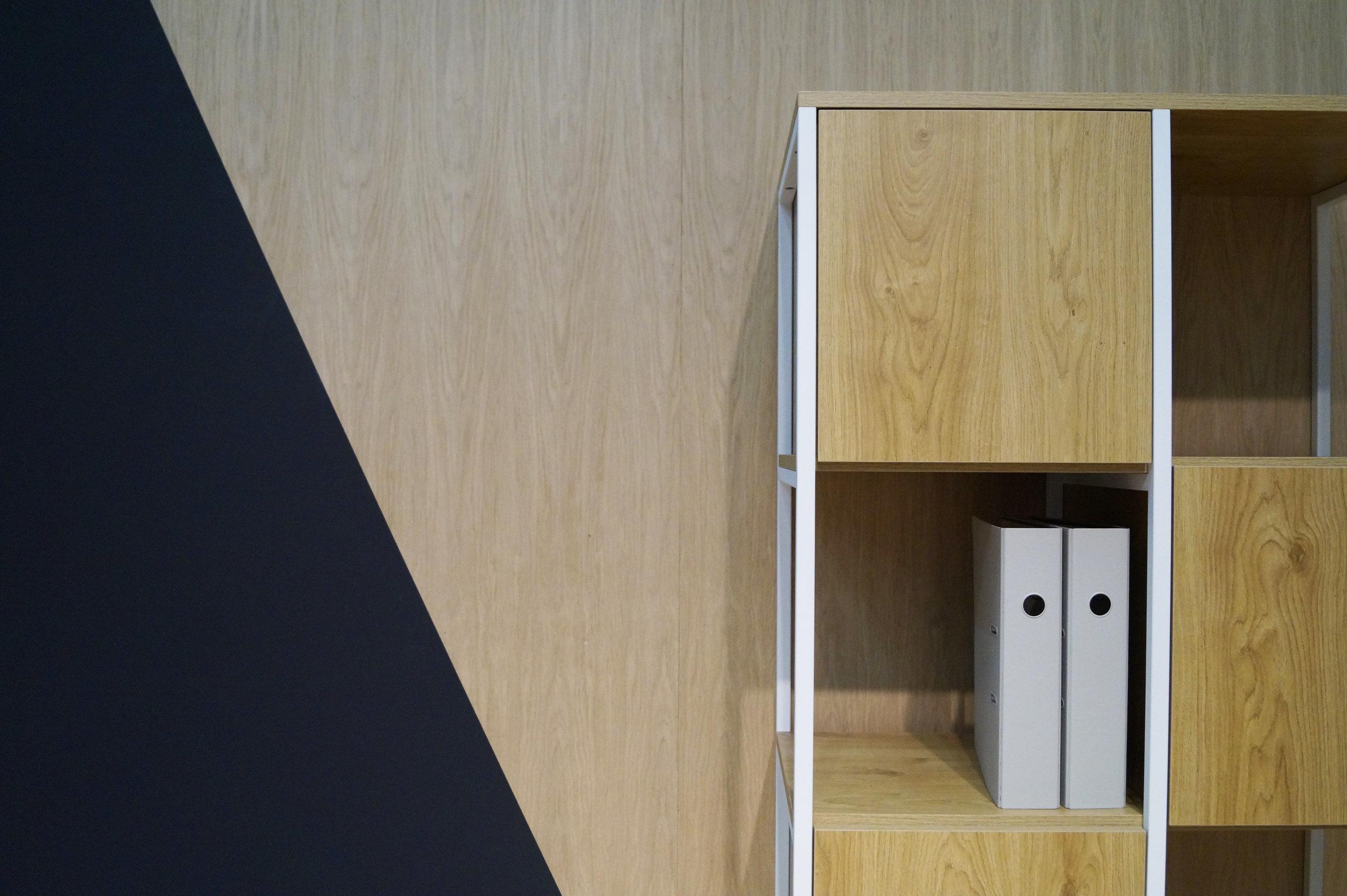 Cubics medium  |  Eiken - wit