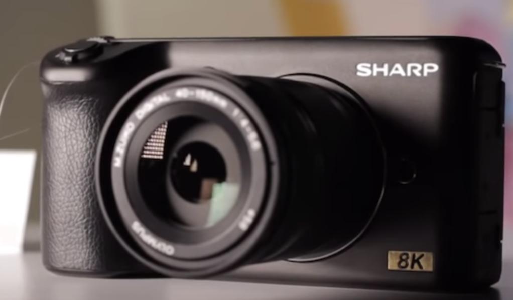 sharp 8k camera