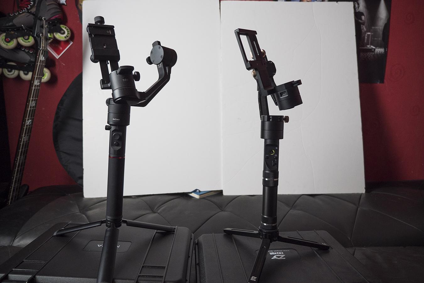 moza aircross vs crane plus size comparison