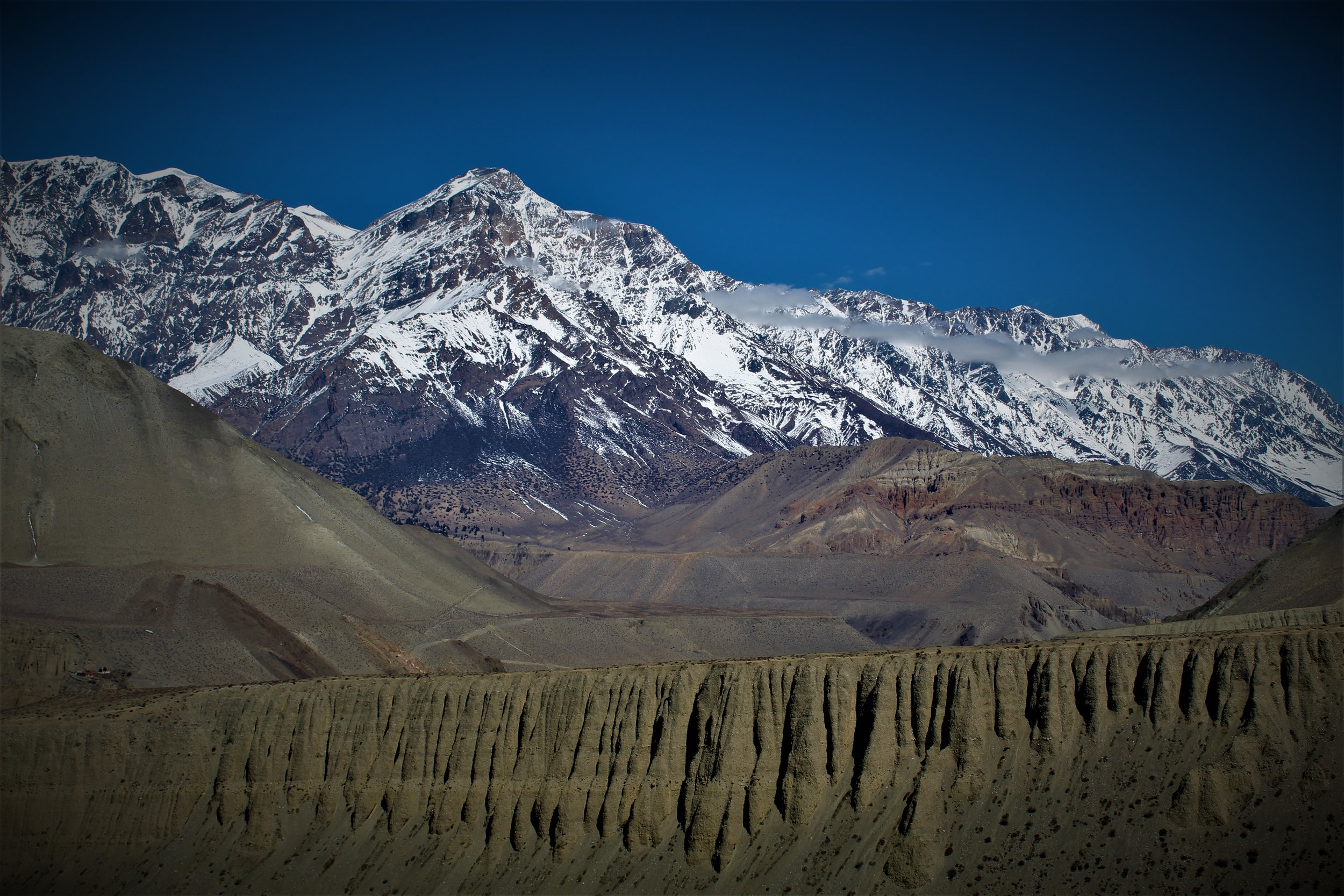 Lower Mustang, Nepal. Altitude approx. 10,000 ft above sealevel