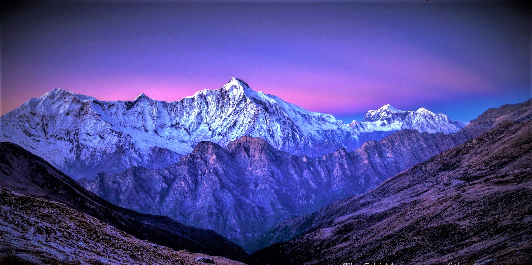 Everest, Himalayas/ Annapurna Pathway. Altitude: 18,000ft - 23.000 ft above sealevel