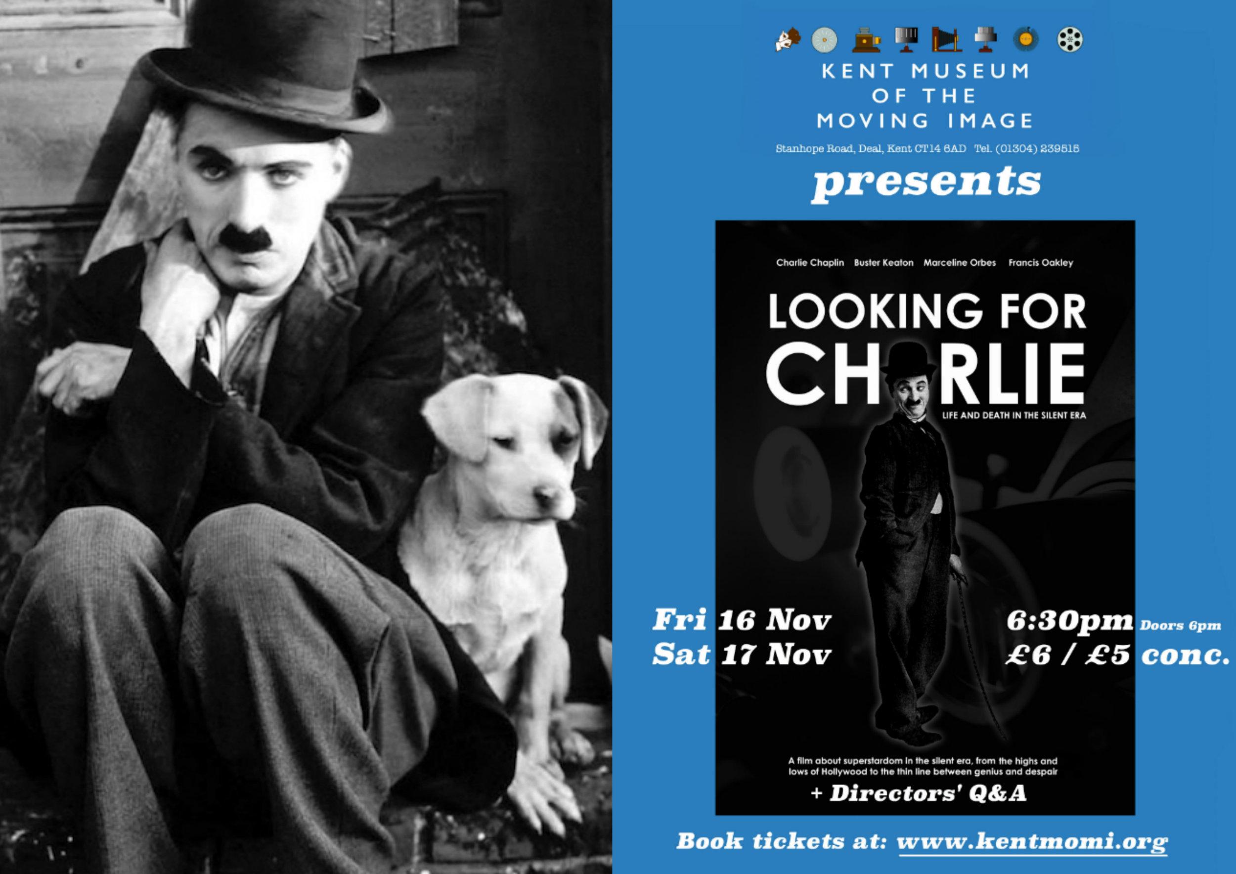 Looking for Charlie - Kent MOMI Screenings - Landscape Poster.jpg