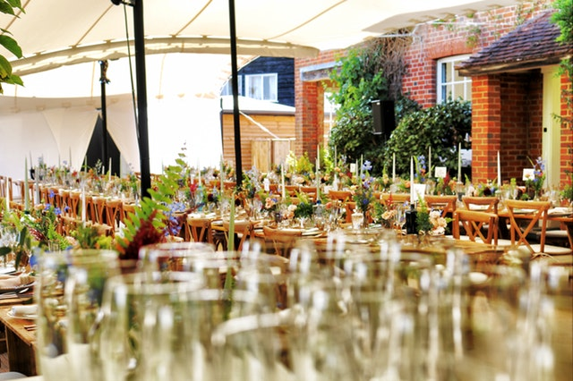Outdoor Catering from The Nags Bar and Kitchen