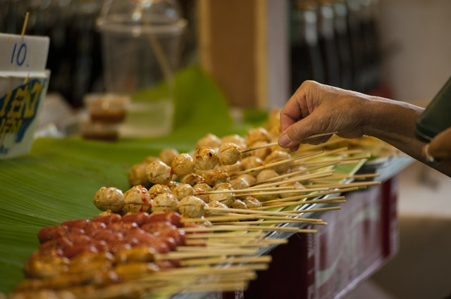 Street Food from The Nags Bar and Kitchen