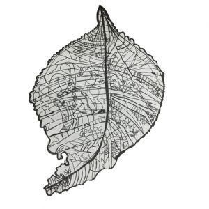 3D printed leaf design