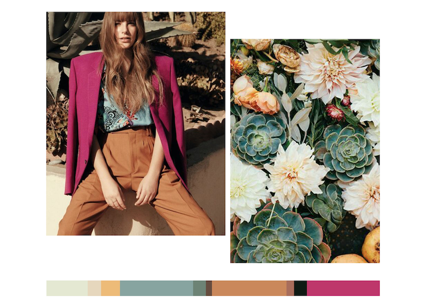 COLOR FORECASTING - We do the research for you to create future color stories. Not only looking for the next new color, Pattern Curator reports trending color combinations and full color palettes to acheive as specific mood in print & pattern design.