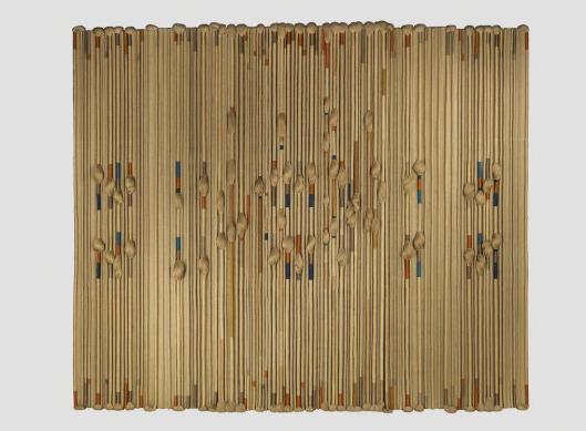 Sheila Hicks  Textile Fresco  Demisch Danant