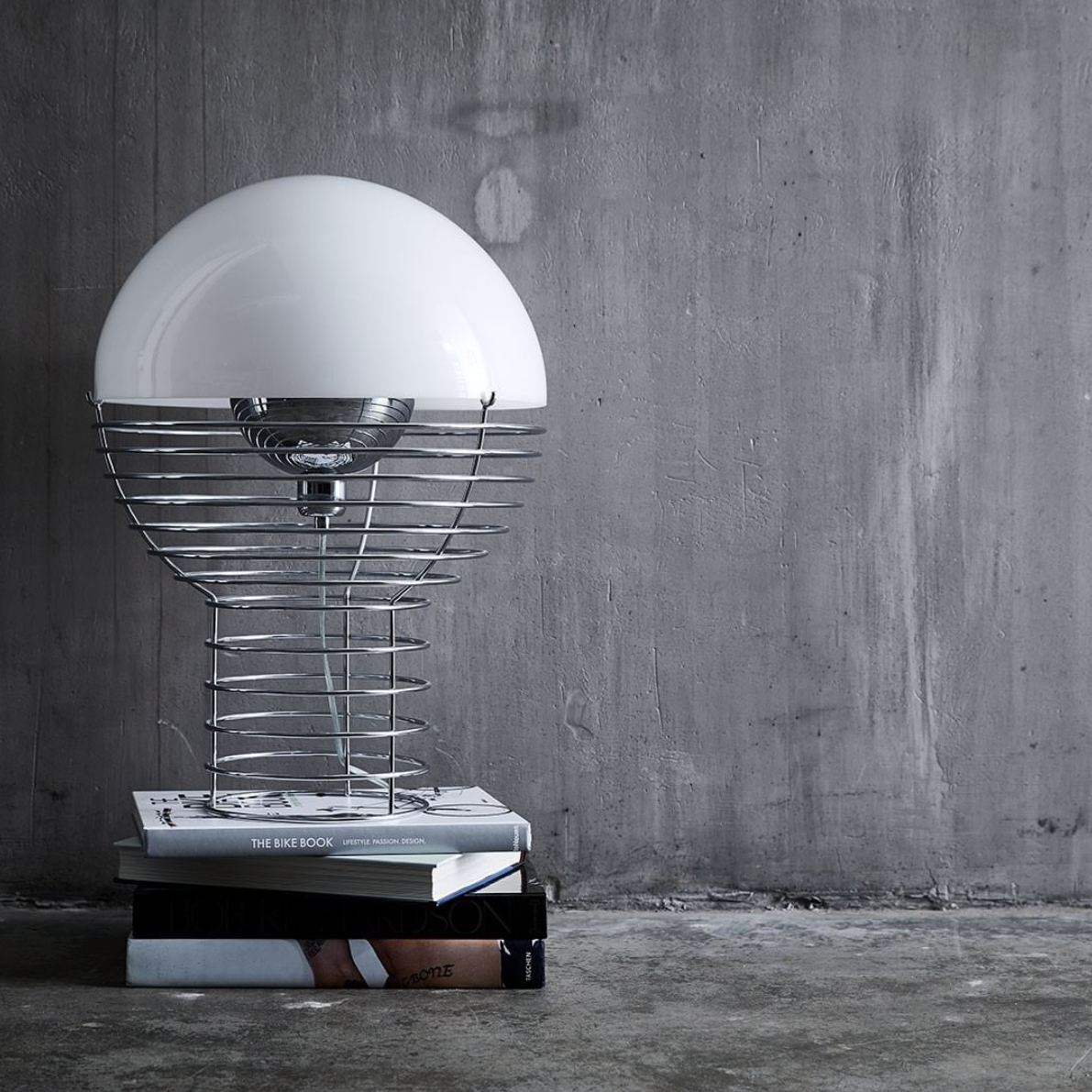 The Iconic Wire Lamp